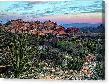 Red Rock Sunset II Canvas Print by Rick Berk