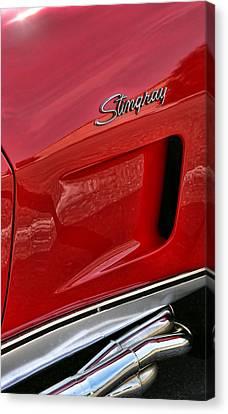Red Stingray Canvas Print by Gordon Dean II