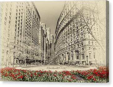 Red Tulips Canvas Print by Svetlana Sewell