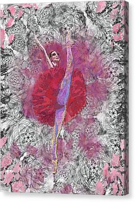 Red Tutu Canvas Print by Cynthia Sorensen