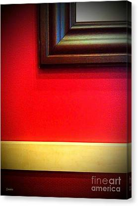 Red Wall Canvas Print by Eena Bo
