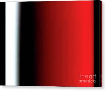 Red Wine Canvas Print by Pet Serrano