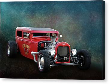 Canvas Print featuring the photograph Redd Rod by Bill Dutting