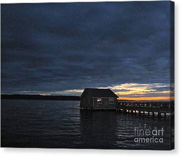 Canvas Print featuring the photograph Redondo Pier by Sean Griffin
