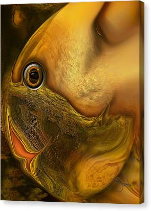 Reef Mistress Canvas Print by Steve Sperry