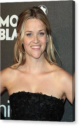 Reese Witherspoon At Arrivals Canvas Print by Everett