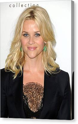 Reese Witherspoon At Arrivals For Elles Canvas Print