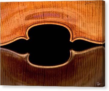 Canvas Print featuring the photograph Reflected Corners by Endre Balogh