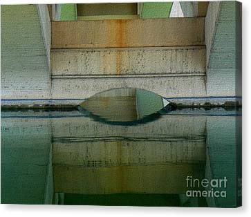 Canvas Print featuring the photograph Reflected by Lin Haring
