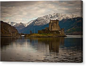 Reflection At Eilean Donan Canvas Print