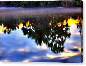 Reflection Canvas Print by Ken Beatty