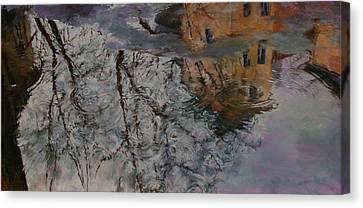 Reflection Canvas Print by Khadzhi-Murad Alikhanov