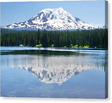 Reflection Of Adams Canvas Print