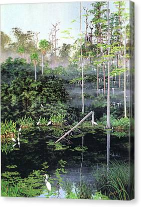 Reflections 1 Canvas Print