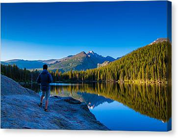 Reflections Canvas Print by Daniel Chen