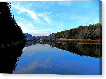 Reflections Canvas Print by Jamie  Campbell