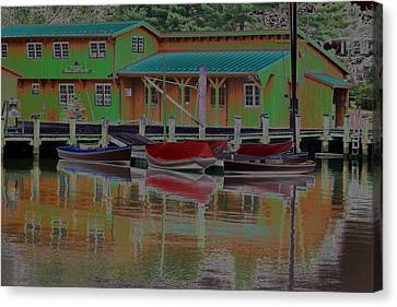 Reflections Of Color Canvas Print by Carolyn Stagger Cokley