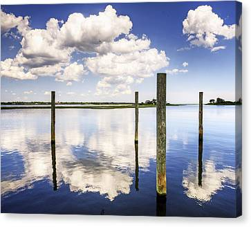 Reflections Of June Canvas Print