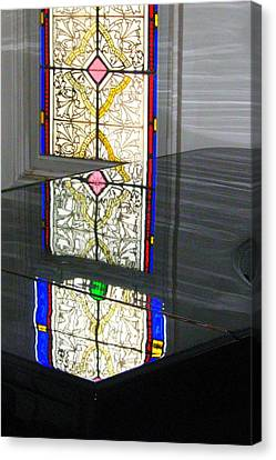 Reflective Mood Canvas Print by Bruce Carpenter