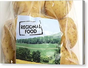 Regional Food Canvas Print by Victor De Schwanberg