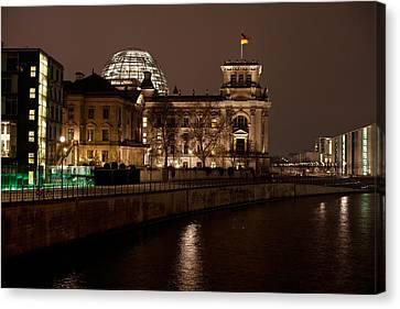 Reichstag Landscape Canvas Print by Mike Reid