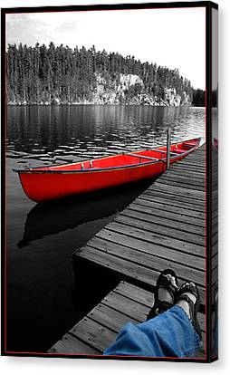 Canvas Print featuring the photograph Relax by Brian Duram