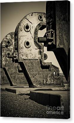 Relics Of A Bygone Era Canvas Print by John Buxton