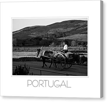 Remains Of The Day Portugal Canvas Print