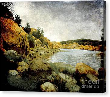 Prescott Canvas Print - Rembrandt Colors by Arne Hansen