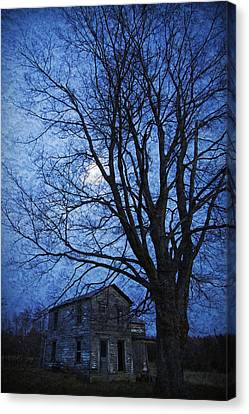 Remember When - This Old House Canvas Print