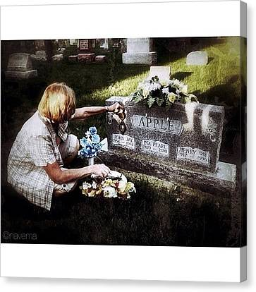 Gmy Canvas Print - Remembering Her Little Brother by Natasha Marco