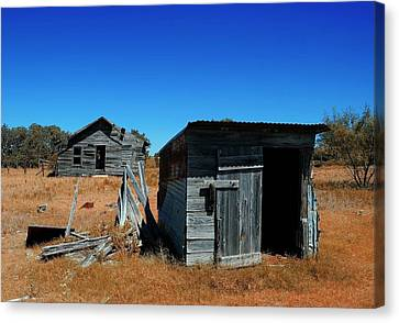 Canvas Print featuring the photograph Remnants Of The Past by Renee Hardison