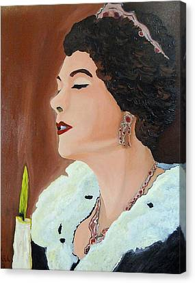 Renata Canvas Print by Lisa Brandel
