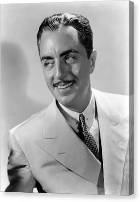 Rendezvous, William Powell, 1935 Canvas Print by Everett