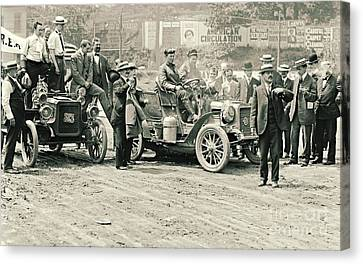 Inflatable Canvas Print - Reo Mountaineer Comes Home To New York 1905 by Padre Art