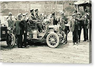Inflatable Canvas Print - Reo Mountaineer New York Round Trip Reception Committee 1905 by Padre Art