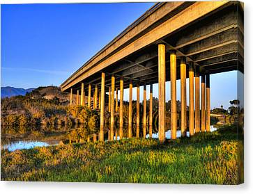 Canvas Print featuring the photograph Repetition by Marta Cavazos-Hernandez