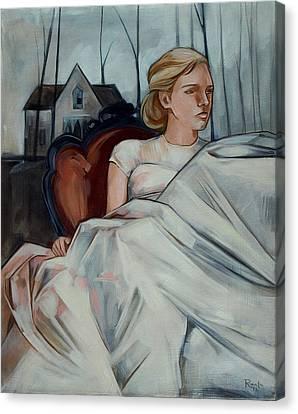 Repose Canvas Print by Jacque Hudson