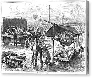 Republican Barbecue, 1876 Canvas Print by Granger