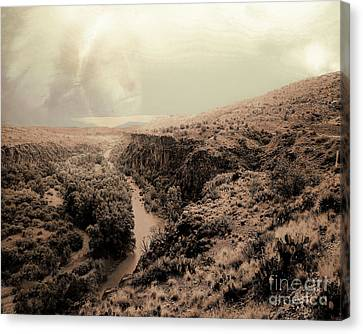 Verde River Canvas Print - Requiem by Arne Hansen