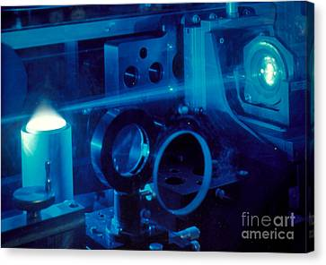 Research Into The Combustion Of Fuels Canvas Print