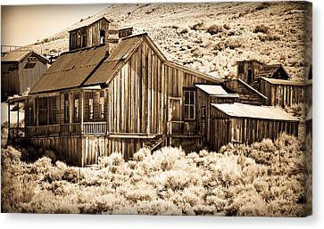 Residence At The Old Mill Canvas Print by Levin Rodriguez