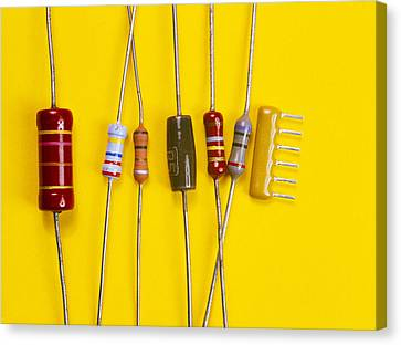 Resistors Canvas Print by Andrew Lambert Photography