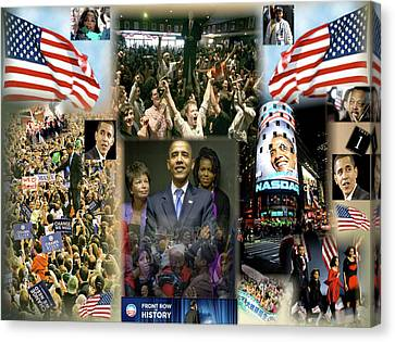 Voters Canvas Print - Respectfully Yours..... Mr. President 2 by Terry Wallace