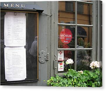 Restoran From Michelin Canvas Print by Yury Bashkin