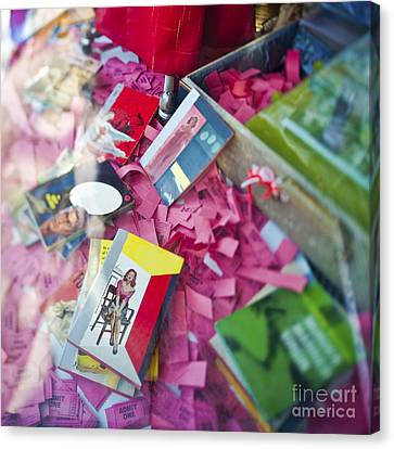 Retail Display Canvas Print by Eddy Joaquim