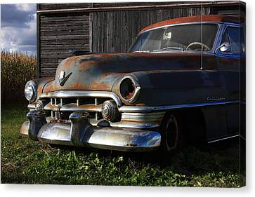 Retired Canvas Print by Lyle Hatch