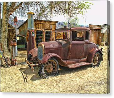 Retired Model T Canvas Print by Jason Abando