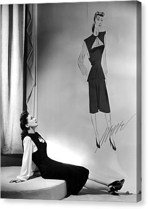 Reunion In France, Joan Crawford, 1942 Canvas Print by Everett