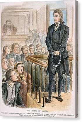 Rev. George Burroughs Canvas Print by Granger